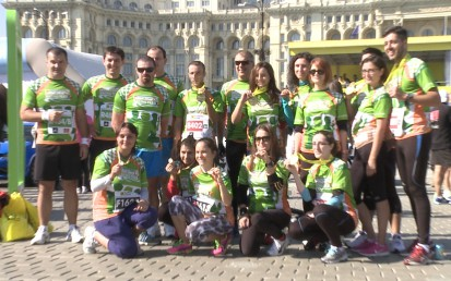CATENA RACING TEAM la Bucharest International MARATHON 2014