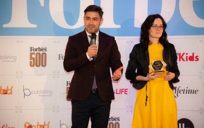 Premiu pentru CATENA la Gala Forbes Brands for Kids, 2018