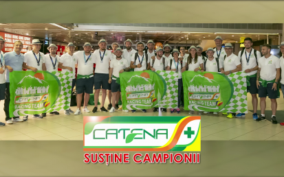 Catena Racing Team, victorie in Franta